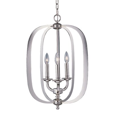 Devona 3-Light Pendant Finish: Polished Nickel