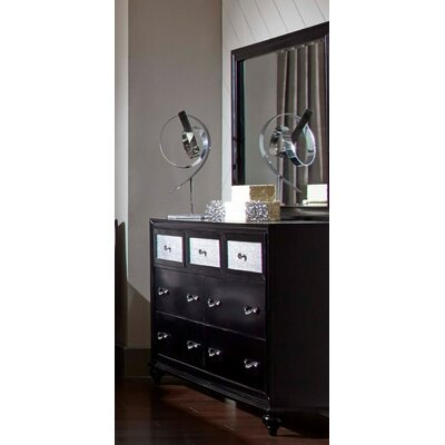 Godinne 7 Drawer Dresser with Mirror