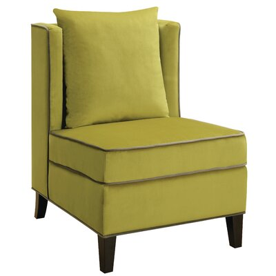 Rego Slipper Chair Upholstery: Yellow