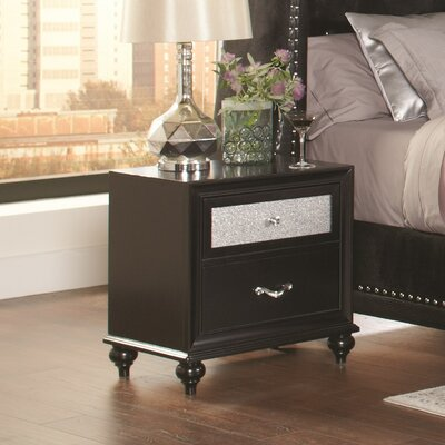 Chappell 2 Drawer Nightstand