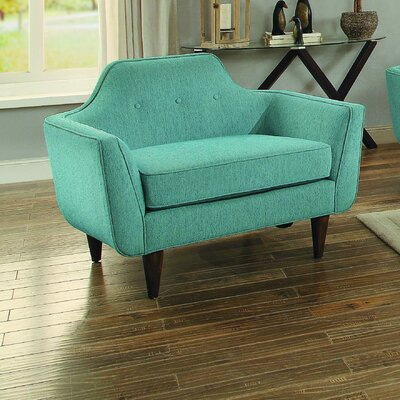 Ewing Chair and a Half Upholstery: Teal