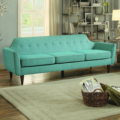 Reimers Sofa Upholstery: Teal