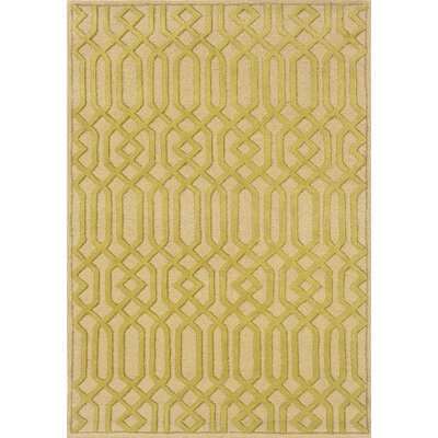Reisinger Beige/Gold Area Rug Rug Size: Rectangle 36 x 56