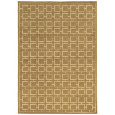 Reiter Tan/Beige Area Rug Rug Size: Rectangle 33 x 55