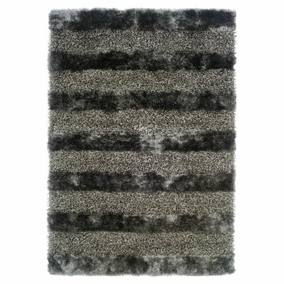 Reith Grey Area Rug Rug Size: 8 x 11
