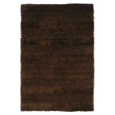Reith Brown Area Rug Rug Size: 67 x 96