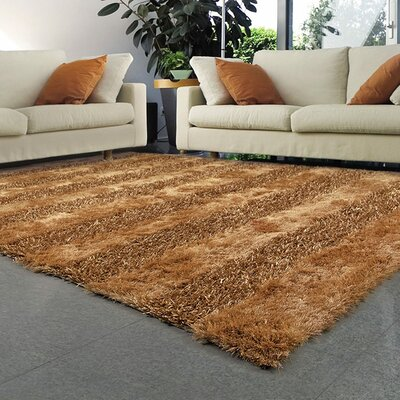 Reith Gold Area Rug Rug Size: Rectangle 8 x 11