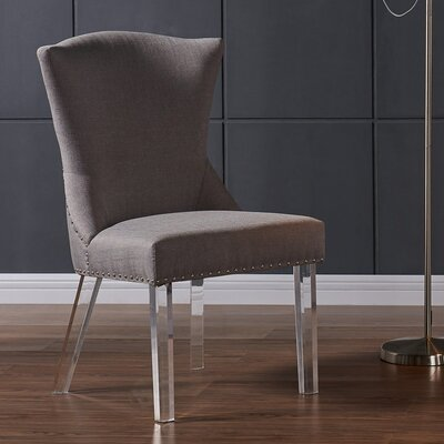 Bostrom Parsons Chair Upholstery: Taupe