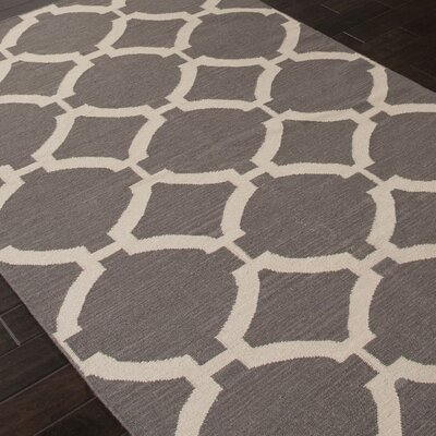 Rickman Liquorice Area Rug Rug Size: Rectangle 36 x 56
