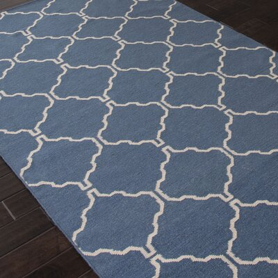 Wilder Dark Denim Moroccan Area Rug Rug Size: Rectangle 5 x 8