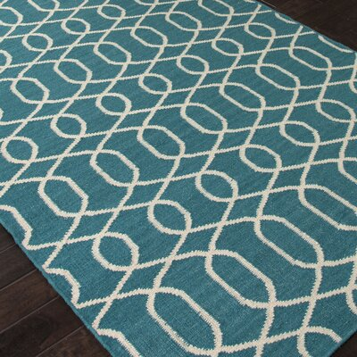 Ginger Geometric Baltic and Turtledove Area Rug Rug Size: Rectangle 5 x 8