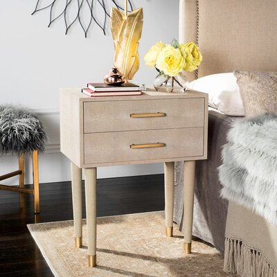 End Table Finish: Beige