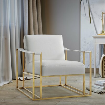 Harald Armchair Finish: Gold