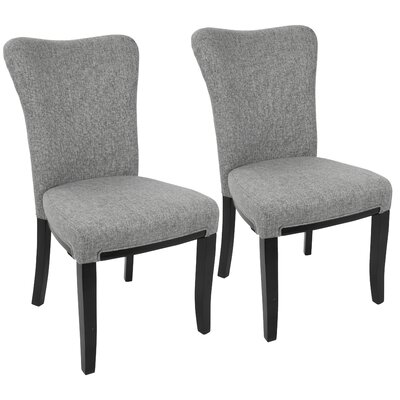 Neville Side Chair Upholstery: Gray