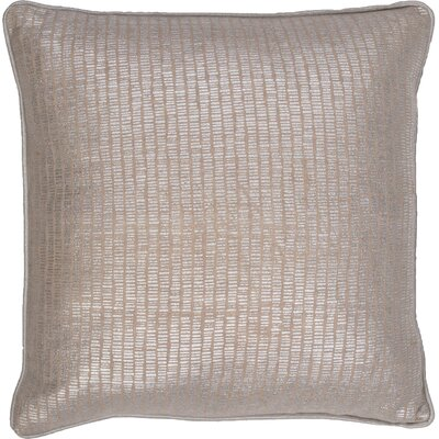 Remer Cotton Pillow Cover Color: Gray