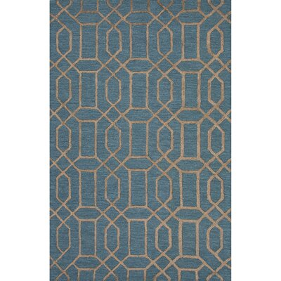 Remillard Hand-Tufted Blue Area Rug Rug Size: 2' x 3'