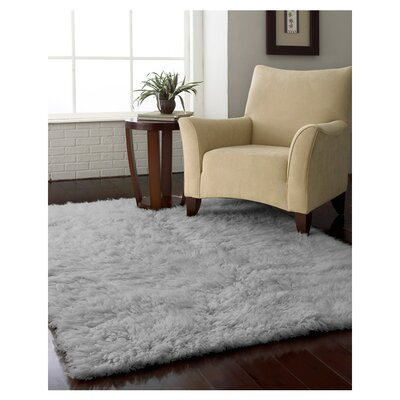 Gherardo Hand-Woven Wool Gray Area Rug Rug Size: Rectangle 4 x 6