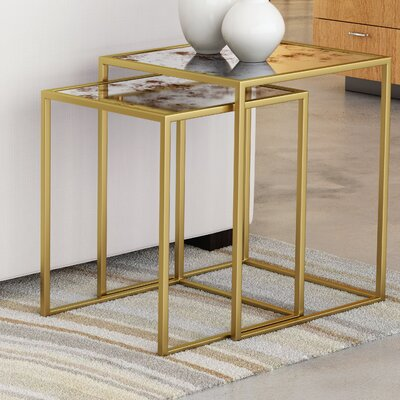 Rael 2 Piece Nesting Tables