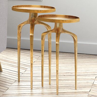 Rosborough 2 Piece Nesting Tables