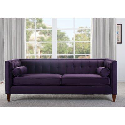 Sprimont Sofa Color: Purple