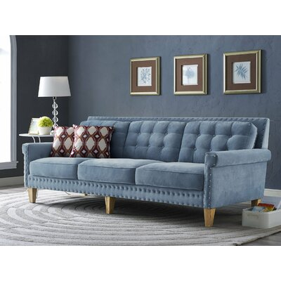 Bethel Sofa Upholstery: Light Blue