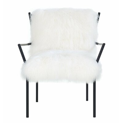 Ottavio Soft Sheepskin Armchair