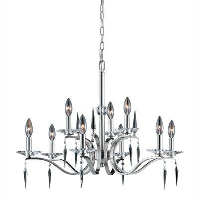 Ramiro 9-Light Candle-Style Chandelier