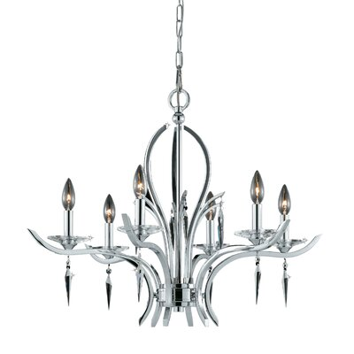 Ramm 6-Light Candle-Style Chandelier