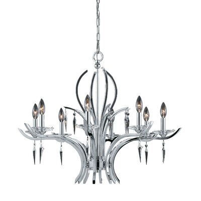 Ramm 8-Light Candle-Style Chandelier