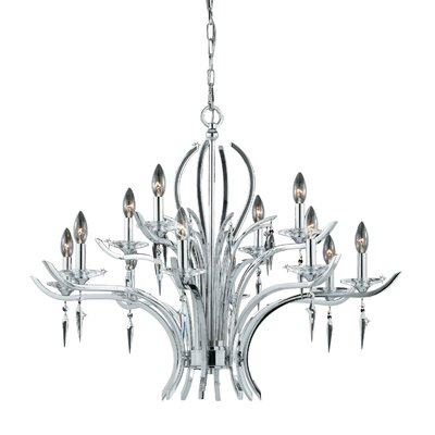 Ramm 12-Light Candle-Style Chandelier