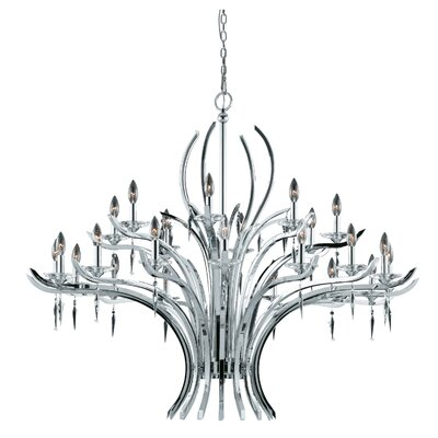 Ramm 24-Light Candle-Style Chandelier