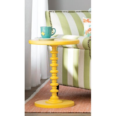 Adames End Table Color: Yellow