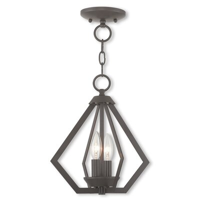 Raney 2-Light Foyer Pendant Finish: Bronze