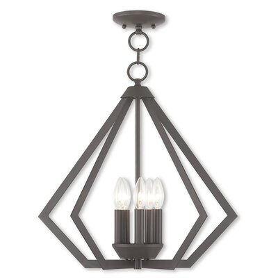Raney 5-Light Foyer Pendant Finish: Bronze