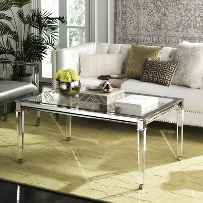 Raya Coffee Table Color: Silver
