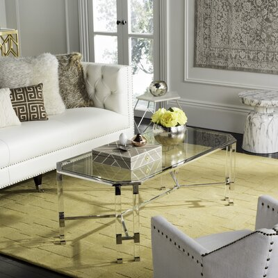 Bethany Coffee Table Finish: Silver