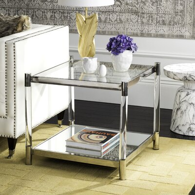 Orchimont End Table Color: Silver