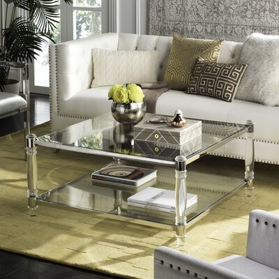 Perkins Coffee Table Color: Silver