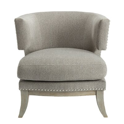 Rangel Barrel Chair Upholstery: Gray