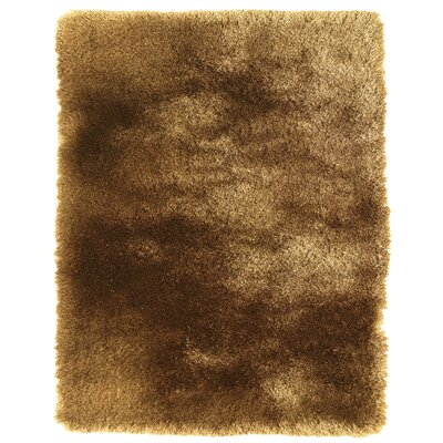 Danae Hand-Tufted Brown Area Rug Rug Size: 36 x 56