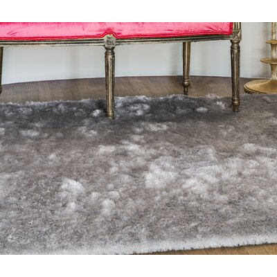 Danae Hand-Tufted Platinum Area Rug Rug Size: Runner 26 x 6