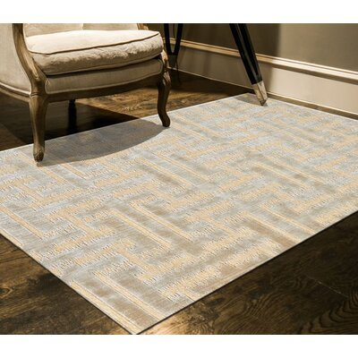 Rascon Cream/Ecru Area Rug Rug Size: Runner 26 x 8