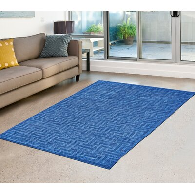 Raskin Hand-Tufted Admiral Area Rug Rug Size: Runner 26 x 8