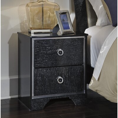 Ratcliff 2 Drawer Nightstand