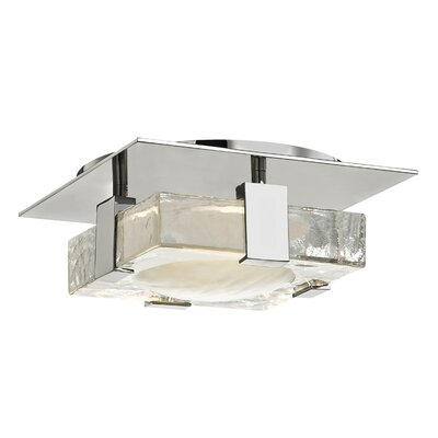 Rayl 1-Light LED Flush Mount Finish: Polished Nickel