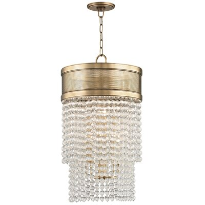 Rawson 8-Light Crystal Pendant Finish: Aged Brass