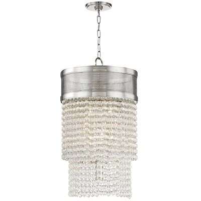 Rawson 8-Light Crystal Pendant Finish: Polished Nickel
