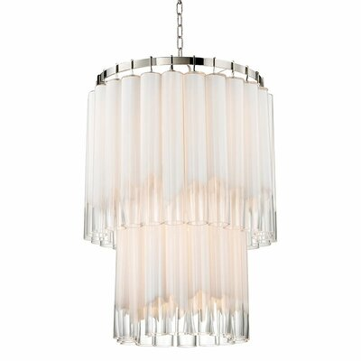 Renz 9-Light Waterfall Chandelier