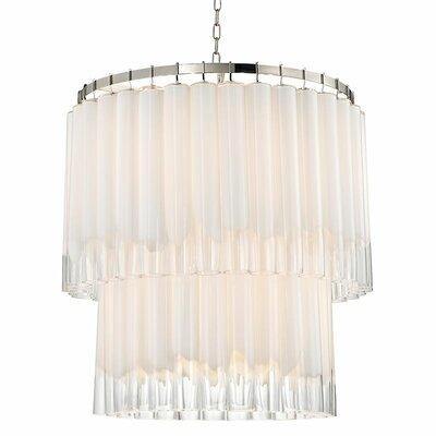 Renz 13-Light Waterfall Chandelier