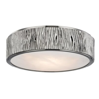 Repass 1-Light LED Flush Mount Finish: Polished Nickel